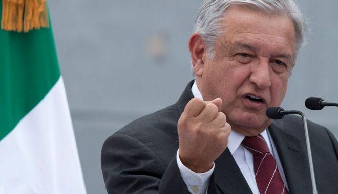 Foto: Preşedintele Mexicului nu mai vrea ajutor militar din partea SUA