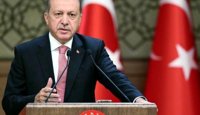 Foto: Preşedintele Turciei cere respectarea armistiţiului în regiunea siriană Idleb