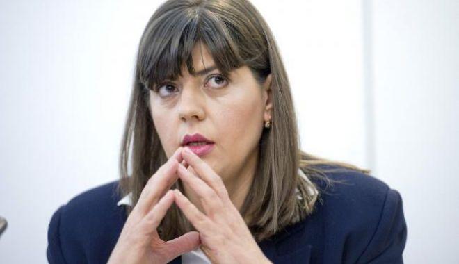Foto: Ora 12.00. Declaraţii Laura Coduţa Koveşi, după anunţul revocării din funcţie