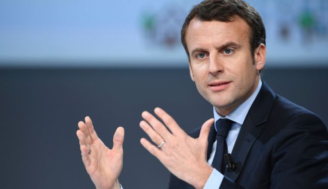Foto: Președintele Macron face apel la dialog cu palestinienii