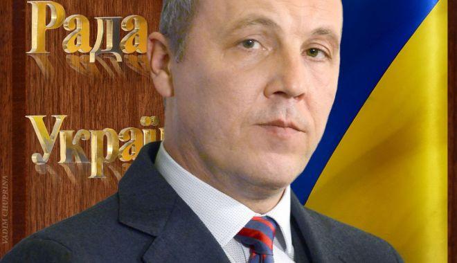 Foto: Preşedintele parlamentului ucrainean, cercetat pentru presupuse acte de corupţie