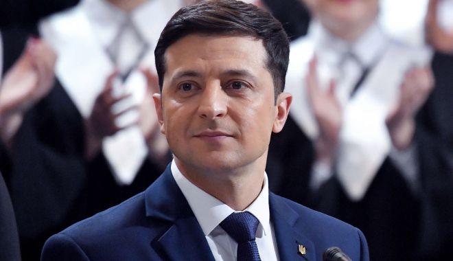 Foto: Președintele ucrainean face apel către omologii săi rus, francez și german