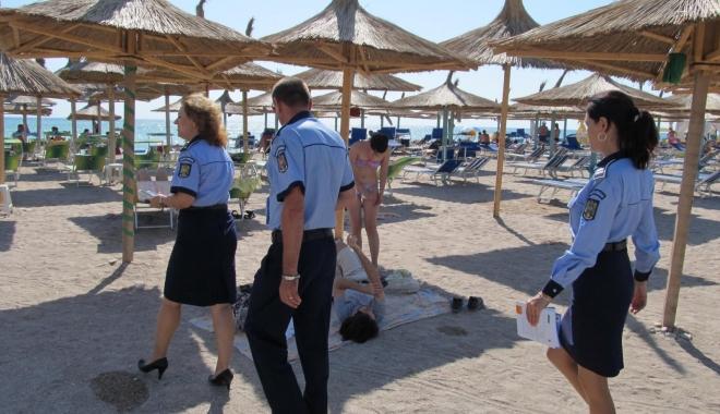 Foto: Poliţiştii şi jandarmii constănţeni au desfăşurat acţiuni, în Vama Veche