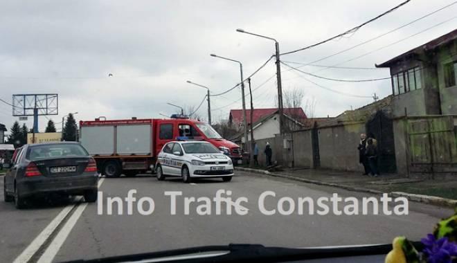 Foto: Prima zi de week-end a fost cu ghinion pentru şoferii constănţeni