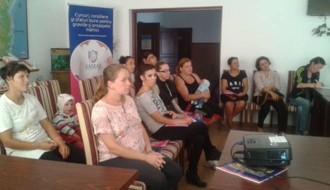 Foto: Primăria Agigea, sprijin specializat pentru gravidele  din comună