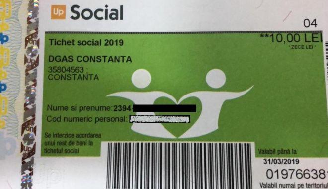 """Foto: Primăria Constanța, anunț important pentru beneficiarii tichetelor """"Respect"""""""