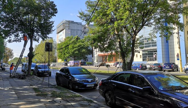 """Foto: Primăria Constanța avertizează: """"Fără cabluri pe bulevardul Mamaia!"""""""