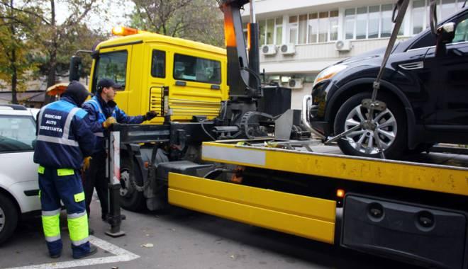 Foto: Primăria Constanţa vrea să reia  ridicarea maşinilor
