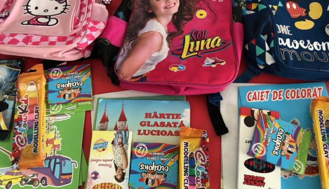Foto: Primăria Constanța a început distribuirea  rechizitelor către școli și grădinițe