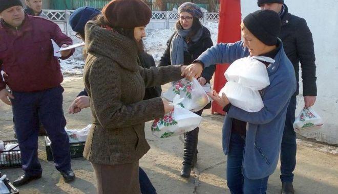 Foto: Primăria Constanța asigură pachete cu alimente persoanelor vulnerabile