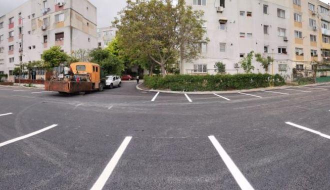 Foto: Primăria Constanța a amenajat peste 200 de locuri de parcare în locul garajelor demolate