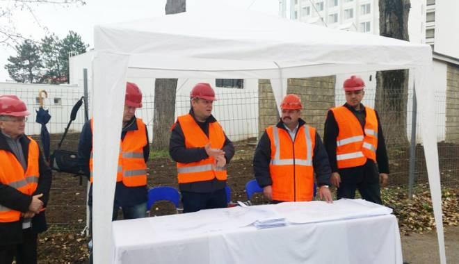Foto: Eforie va deveni un imens şantier. Încep lucrările de introducere  a reţelei de gaze