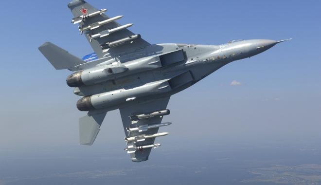 Foto: Primele avioane de vânătoare ruseşti MiG-29 au ajuns în Serbia