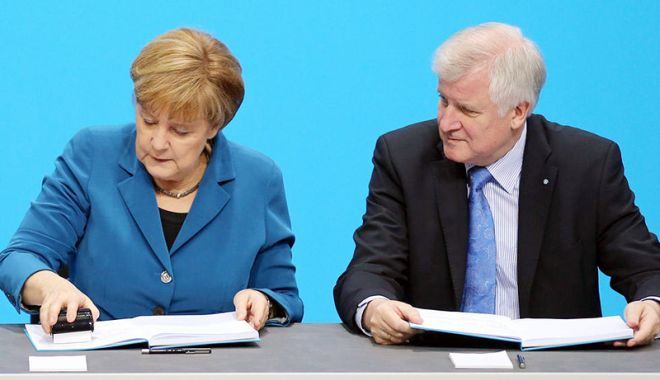 Foto: Primele semne de aplanare  a crizei politice în Germania