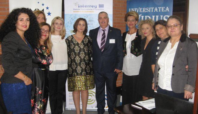 """Foto: Primul centru de antreprenoriat feminin din România  va fi înființat la Universitatea """"Ovidius"""" din Constanța"""