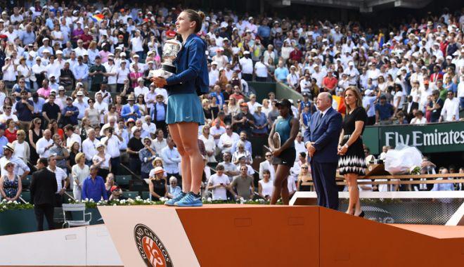 Foto: Simona Halep, noua Zeiţă a Roland Garros-ului