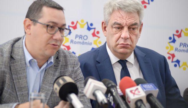 Foto: Doi deputați PSD, plecați anul trecut din Pro România, se întorc iar în partidul lui Victor Ponta