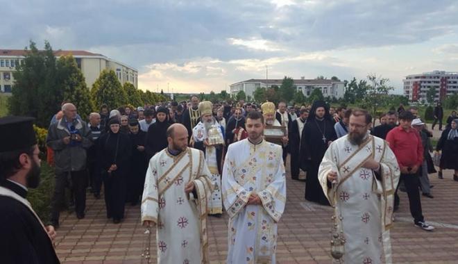 Foto: Procesiune religioasă la Năvodari