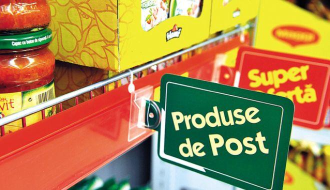 Foto: Produsele de post îşi vor schimba denumirile