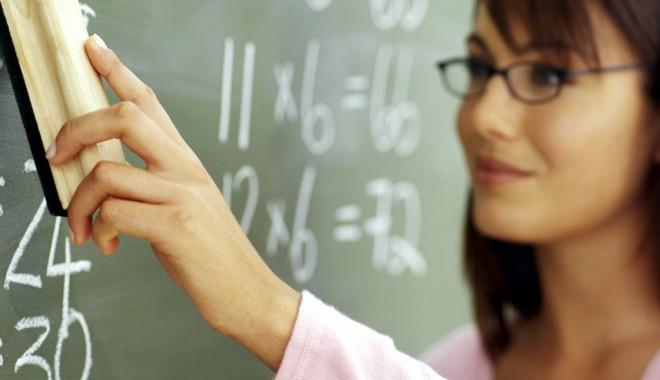 Foto: Veste bună pentru profesori