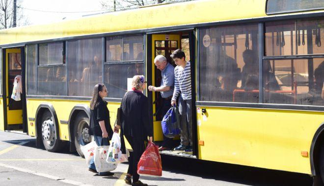 Foto: Cum circulă autobuzele RATC în minivacanţa de 1 Mai