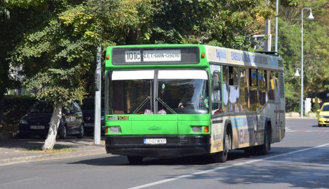 Foto: CONSTĂNȚENI, ATENȚIE! Iată cum vor circula autobuzele RATC în zilele următoare