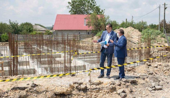 Foto: CJC construiește două case de tip familial pentru copiii din centrele de plasament