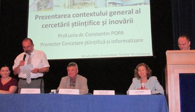 Foto: Proiect european pentru atragerea candidaţilor către Facultatea de Matematică