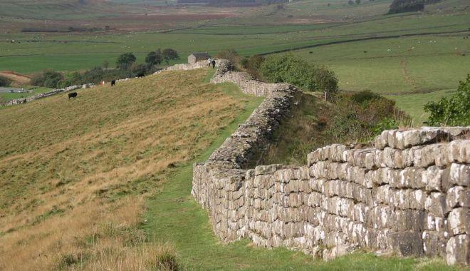 Foto: Fortificaţiile romane vor fi mai bine puse în evidenţă pe viitor