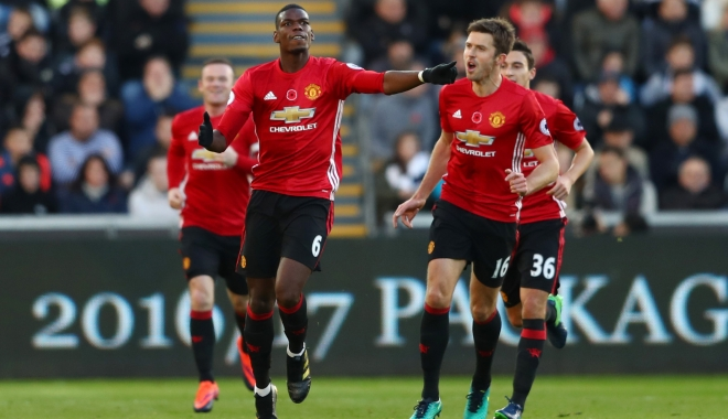Foto: FOTBAL / Manchester United a câştigat Cupa Ligii engleze
