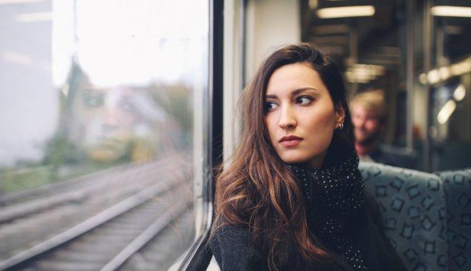 Foto: Propunere indecentă în tren