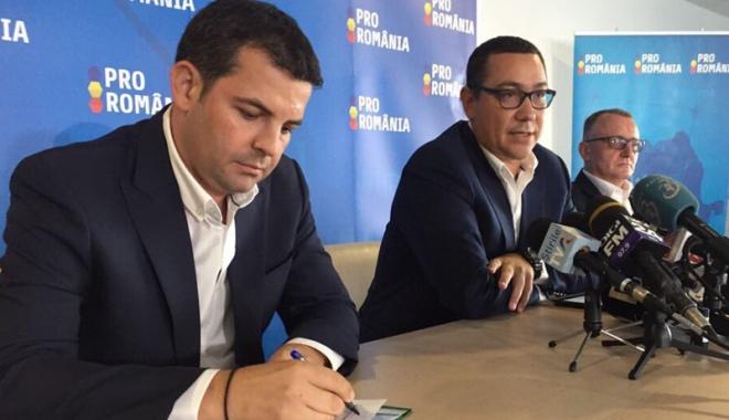 Foto: Pro România nu susţine moţiunea de cenzură a PNL