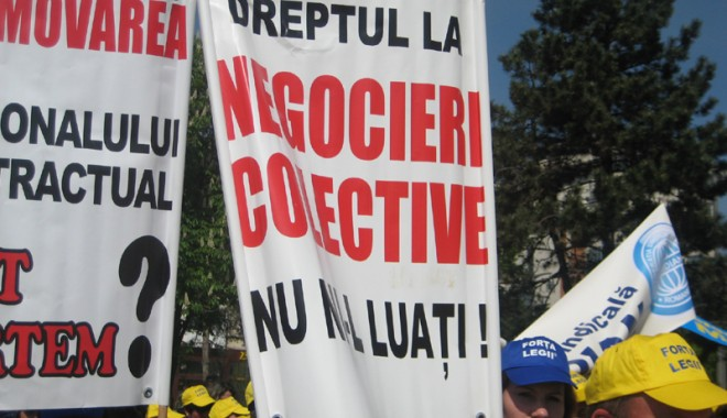 Foto: Bugetarii îi dau ultimatum Guvernului Ponta