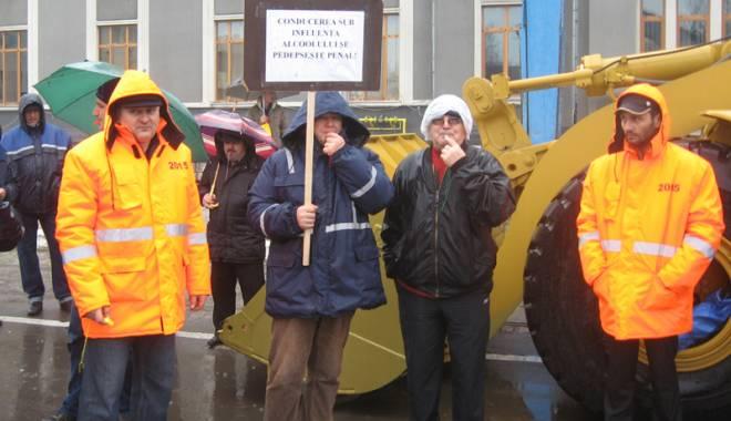 Foto: Protest cu mii de decibeli la Gara Maritimă