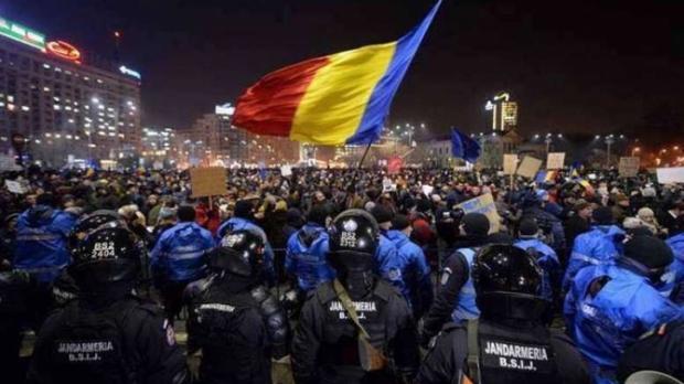 Foto: Jandarmeria Română, mesaj de ultimă oră pentru participanţii la protestul de vineri