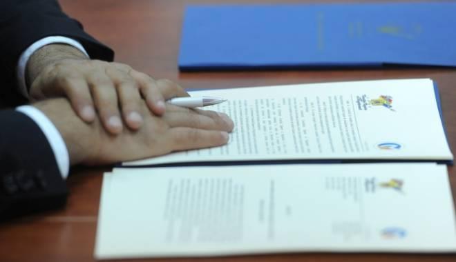 Foto: Proiect pilot la Constan�a. PN�CD, PRU �i PND vor semna un protocol de colaborare