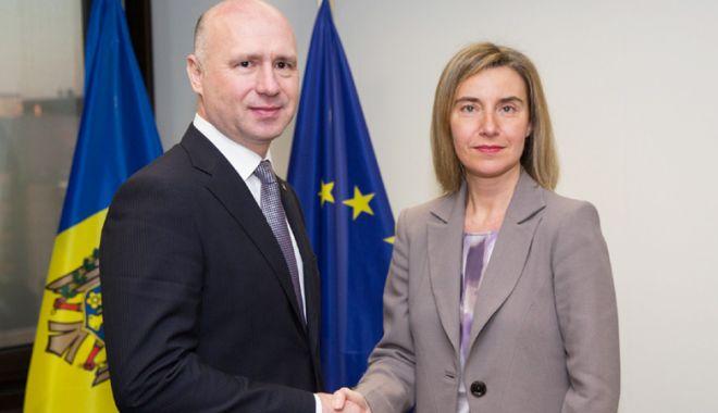 Foto: UE susţine  în continuare Republica Moldova