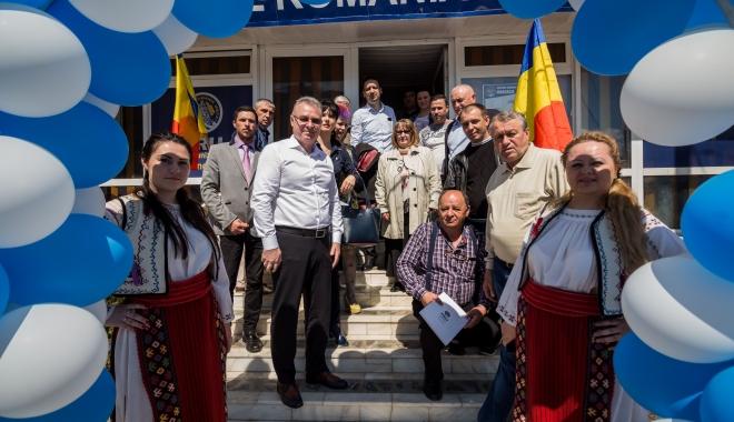 Foto: PRU merge pe mâna lui Dănuţ Moldovan la Primăria Mangalia