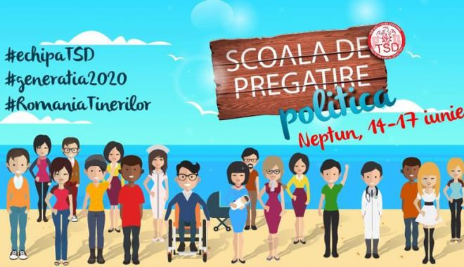 Foto: Peste 300 de tineri din PSD  se reunesc la Neptun. Care este motivul