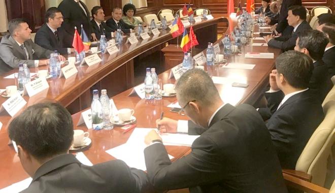 Foto: Liderii PSD Constanţa, întâlnire cu oficiali ai Partidului Comunist Chinez