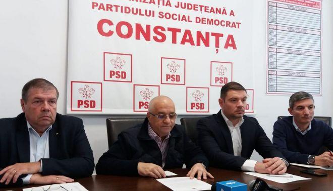 """Foto: Conferință de presă la PSD Constanța. """"Ne dorim ca doamna Dăncilă să câștige alegerile!"""""""
