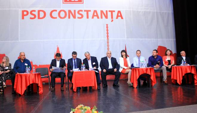 Foto: Cine va face parte din conducerea PSD Constanţa.  Mazăre şi Martin, rămaşi pe dinafară