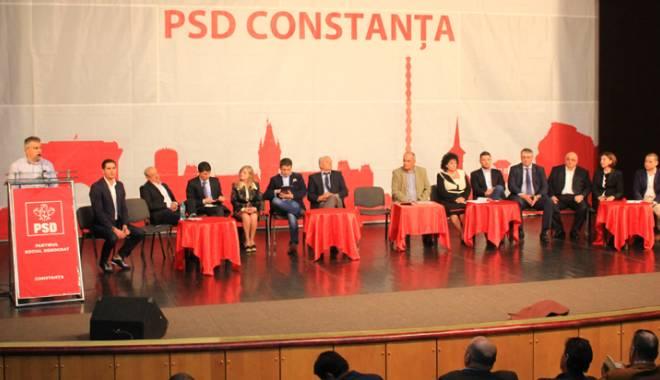 Foto: PSD Constanţa  va merge pe mâna lui Dragnea