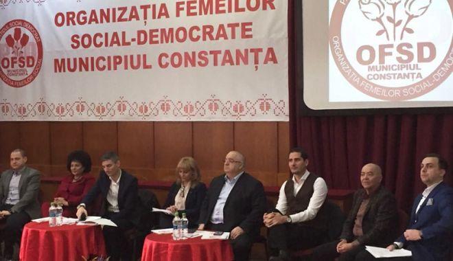 Foto: Femeile din PSD Constanța și-au ales liderul. Marioara Cojoc rămâne la conducere
