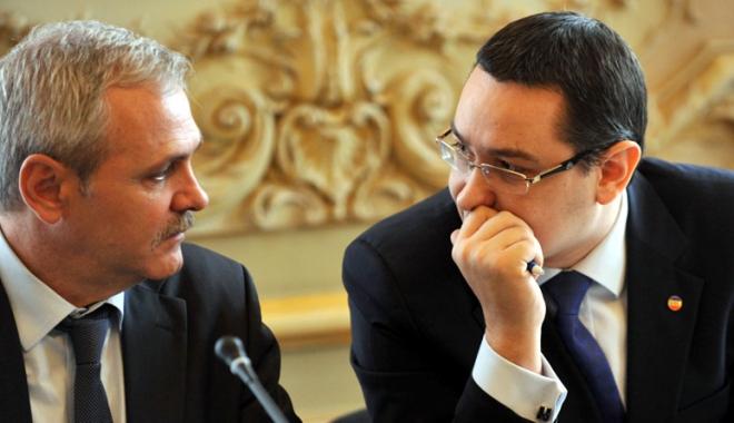 Foto: Ponta vrea să plece din PSD, Dragnea se opune