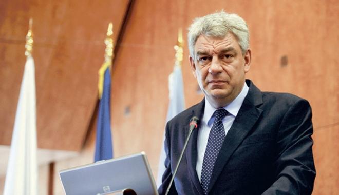 Foto: Premierul Mihai Tudose  nu renunță la restructurarea Guvernului
