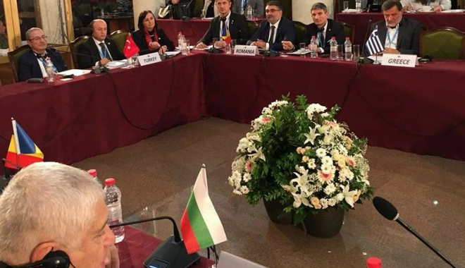 Foto: Deputatul George Vişan, prezent la Tirana. DANUBIUS-RI, cercetare românească  la nivel european