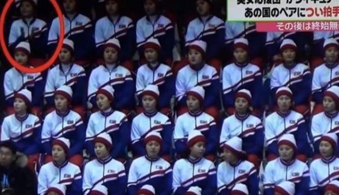 Foto: FOTO / O majoretă nord-coreeană i-a aplaudat pe americani. Ce s-a întâmplat după acest moment