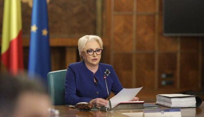 Foto: Viorica Dăncilă anunţă remanierea şi restructurarea guvernului