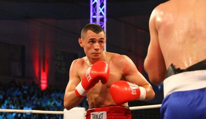 Foto: Flavius Biea  şi-a pierdut  centura de campion  WBA Continental